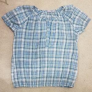 Plaid woman teeshirt